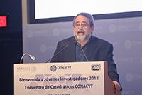 Doctor José Franco, coordinador general del Foro Consultivo, Científico y Tecnológico.